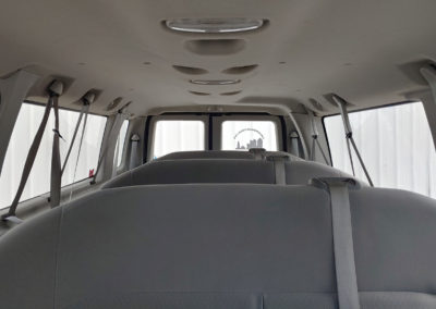 Clubwagon Van Interior