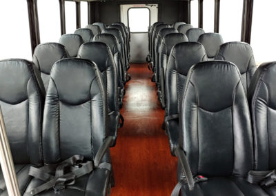 28 Passenger Coach Bus Interior