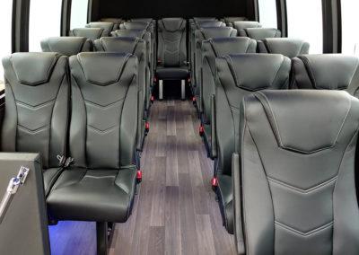 24-Passenger Executive Coach Interior